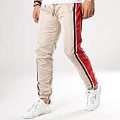 /achat-pantalons-joggings/terance-kole-pantalon-jogging-a-bandes-88033-beige-noir-rouge-168289.html