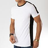 /achat-t-shirts/terance-kole-tee-shirt-a-bandes-98219-blanc-noir-dore-168305.html