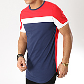 /achat-t-shirts-longs-oversize/terance-kole-tee-shirt-oversize-98211-rouge-bleu-marine-blanc-168311.html