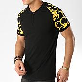 /achat-t-shirts/terance-kole-tee-shirt-col-zippe-renaissance-98223-noir-168319.html