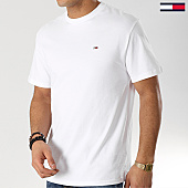 /achat-t-shirts/tommy-hilfiger-jeans-tee-shirt-classic-6061-blanc-168217.html