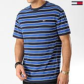 /achat-t-shirts/tommy-hilfiger-jeans-tee-shirt-bold-stripe-6066-bleu-marine-168218.html