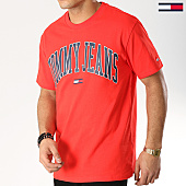 /achat-t-shirts/tommy-hilfiger-jeans-tee-shirt-collegiate-logo-5569-rouge-168315.html