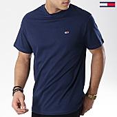 /achat-t-shirts/tommy-hilfiger-jeans-tee-shirt-classic-6061-bleu-marine-168320.html