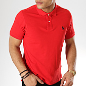 /achat-polos-manches-courtes/us-polo-assn-polo-manches-courtes-institutionnal-rouge-168214.html