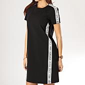 /achat-robes/versace-jeans-robe-femme-avec-bandes-since-tdm904-noir-168195.html