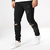 /achat-jeans/aarhon-jean-slim-a129-noir-168359.html