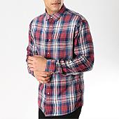 /achat-chemises-manches-longues/celio-chemise-manches-longues-a-carreaux-nafarm2-rouge-bleu-marine-blanc-168450.html