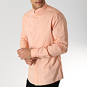 /achat-chemises-manches-longues/celio-chemise-manches-longues-napinpoint-orange-168456.html
