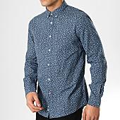 /achat-chemises-manches-longues/celio-chemise-manches-longues-floral-naprin-bleu-marine-168459.html