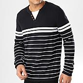 /achat-pulls/celio-pull-nechillray-noir-blanc-168507.html