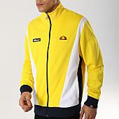 /achat-vestes/ellesse-veste-zippee-vilas-sha01550-jaune-blanc-bleu-marine-168593.html