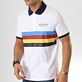 /achat-polos-manches-courtes/guess-polo-manches-courtes-m92p24-k8g30-blanc-168446.html