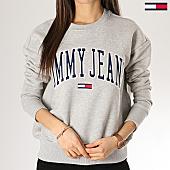 /achat-sweats-col-rond-crewneck/tommy-hilfiger-jeans-sweat-crewneck-femme-clean-collegiate-6050-gris-chine-168557.html