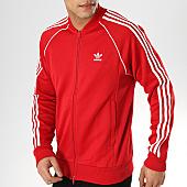 /achat-vestes/adidas-veste-zippee-a-bandes-sst-dv1514-rouge-168831.html