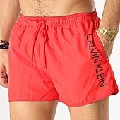 /achat-maillots-de-bain/calvin-klein-short-de-bain-runner-logo-0266-rouge-168612.html