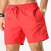 /achat-maillots-de-bain/calvin-klein-short-de-bain-drawstring-0291-rouge-168618.html