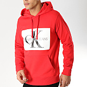 /achat-sweats-capuche/calvin-klein-sweat-capuche-monogram-box-logo-7745-rouge-168693.html