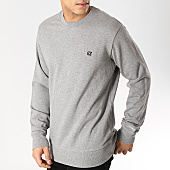 /achat-sweats-col-rond-crewneck/calvin-klein-sweat-crewneck-chest-embroidery-0344-gris-chine-168702.html