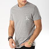 /achat-t-shirts-poche/calvin-klein-tee-shirt-poche-monogram-pocket-slim-1023-gris-chine-168721.html