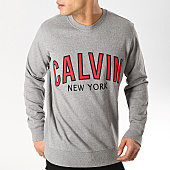 /achat-sweats-col-rond-crewneck/calvin-klein-sweat-crewneck-graphic-1249-gris-chine-168734.html