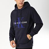 /achat-sweats-capuche/calvin-klein-sweat-capuche-toweling-monogram-1624-bleu-marine-168764.html