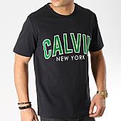 /achat-t-shirts/calvin-klein-tee-shirt-varsity-2121-noir-168766.html