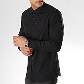 /achat-chemises-manches-longues/calvin-klein-chemise-manches-longues-2439-noir-168773.html