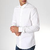 /achat-chemises-manches-longues/calvin-klein-chemise-manches-longues-2439-blanc-168776.html