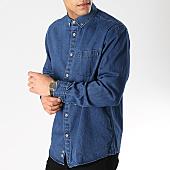 /achat-chemises-manches-longues/celio-chemise-jean-manches-longues-narick-bleu-brut-168777.html