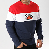 /achat-sweats-col-rond-crewneck/ellesse-sweat-crewneck-oriveto-sha04390-bleu-marine-blanc-rouge-168600.html