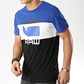 /achat-t-shirts/g-star-tee-shirt-graphic-41-d12408-336-noir-bleu-roi-blanc-168704.html