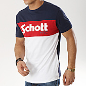 /achat-t-shirts/schott-nyc-tee-shirt-danny-bleu-marine-blanc-rouge-168760.html