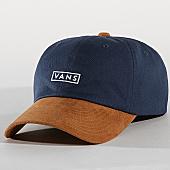 /achat-casquettes-de-baseball/vans-casquette-curved-bil-a36iu-bleu-marine-camel-168709.html