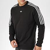 /achat-sweats-col-rond-crewneck/adidas-sweat-crewneck-a-bandes-radkin-du8141-noir-168899.html