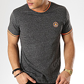 /achat-t-shirts/american-people-tee-shirt-suzon-gris-anthracite-chine-orange-fluo-169076.html