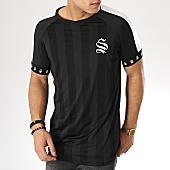 /achat-t-shirts/sinners-attire-tee-shirt-a-bandes-cali-noir-168856.html