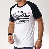 /achat-t-shirts/superdry-tee-shirt-vintage-logo-m10131tt-blanc-bleu-marine-169034.html