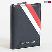 /achat-portefeuilles/tommy-hilfiger-jeans-porte-cartes-corporate-bifold-4545-bleu-marine-168942.html