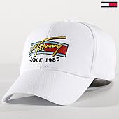 /achat-casquettes-de-baseball/tommy-hilfiger-jeans-casquette-colour-logo-am0am04871-blanc-168977.html