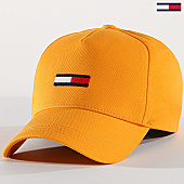 /achat-casquettes-de-baseball/tommy-hilfiger-jeans-casquette-femme-flag-aw0aw06885-jaune-168981.html