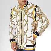 /achat-vestes/zayne-paris-veste-zippee-mj07-blanc-renaissance-jaune-168929.html