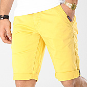 /achat-shorts-chinos/american-people-short-chino-terry-jaune-169108.html