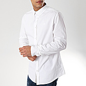 /achat-chemises-manches-longues/american-people-chemise-manches-longues-sam-blanc-169124.html
