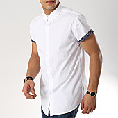 /achat-chemises-manches-courtes/american-people-chemise-manches-courtes-snoop-blanc-169128.html