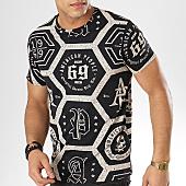 /achat-t-shirts/american-people-tee-shirt-steph-noir-ecru-169142.html