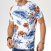 /achat-t-shirts/american-people-tee-shirt-saduru-blanc-chine-bleu-floral-169144.html