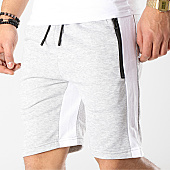 /achat-shorts-jogging/zayne-paris-short-jogging-avec-bandes-md01-gris-chine-blanc-169187.html
