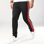 /achat-pantalons-joggings/zayne-paris-pantalon-jogging-avec-bandes-mk09-noir-blanc-rouge-169191.html