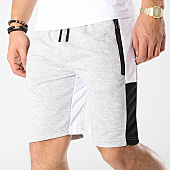 /achat-shorts-jogging/zayne-paris-short-jogging-avec-bandes-md03-gris-chine-blanc-noir-169199.html